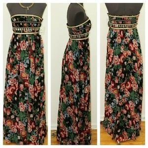 Pearl Georgina Chapman of Marchesa Floral Dress 0